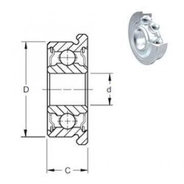 9 mm x 20 mm x 6 mm  ZEN F699-2Z deep groove ball bearings