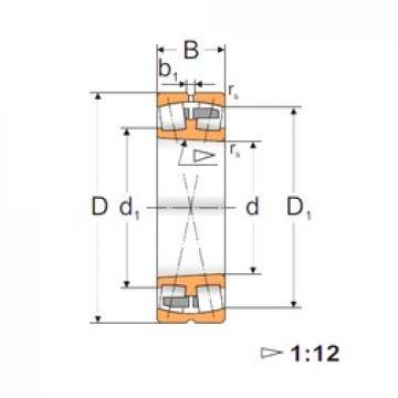 90 mm x 160 mm x 40 mm  FBJ 22218K spherical roller bearings