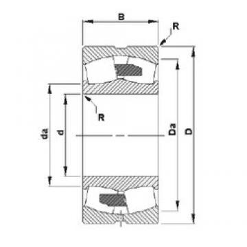 90 mm x 160 mm x 40 mm  Timken 22218YM spherical roller bearings