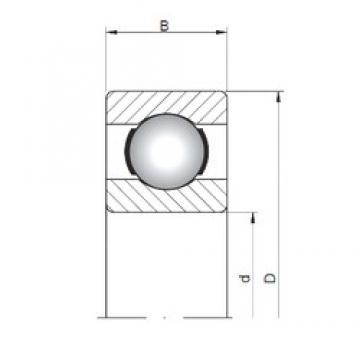 9 mm x 20 mm x 6 mm  Loyal 619/9 deep groove ball bearings