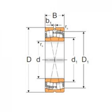 90 mm x 160 mm x 40 mm  Loyal 22218 W33 spherical roller bearings